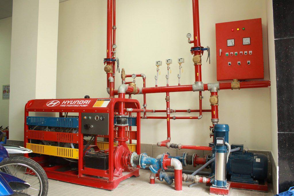 Thiết kế lắp đặt hệ thống PCCC