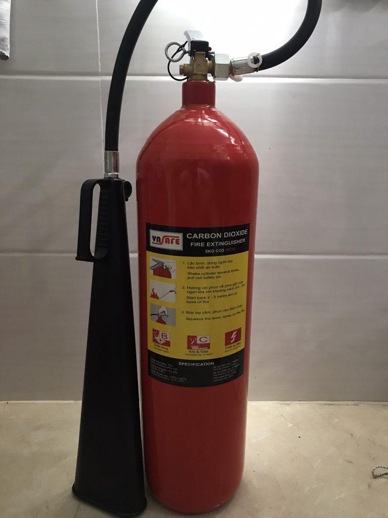 Bình chữa cháy khí MT5