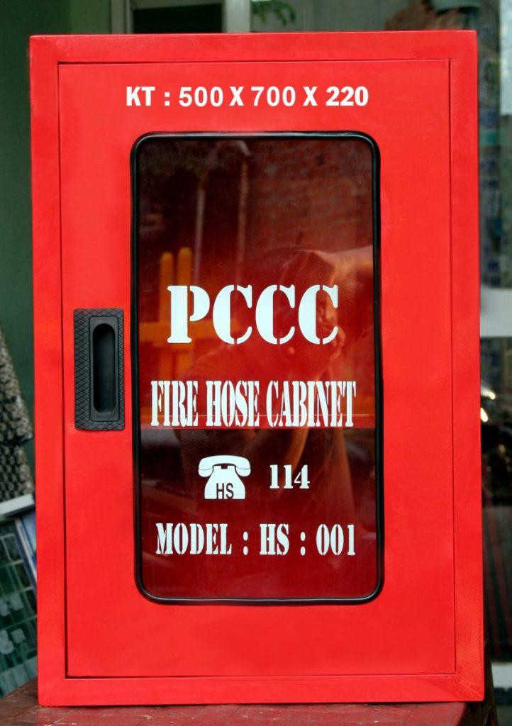 Tủ chữa cháy ngoài nhà 500x700x220