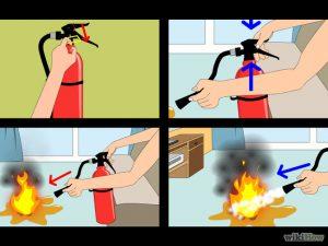 Cách sử dụng bình chữa cháy MT5