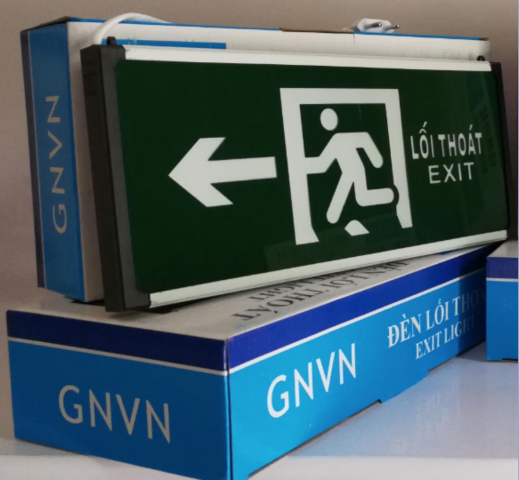 Đèn Exit GNVN chỉ hướng