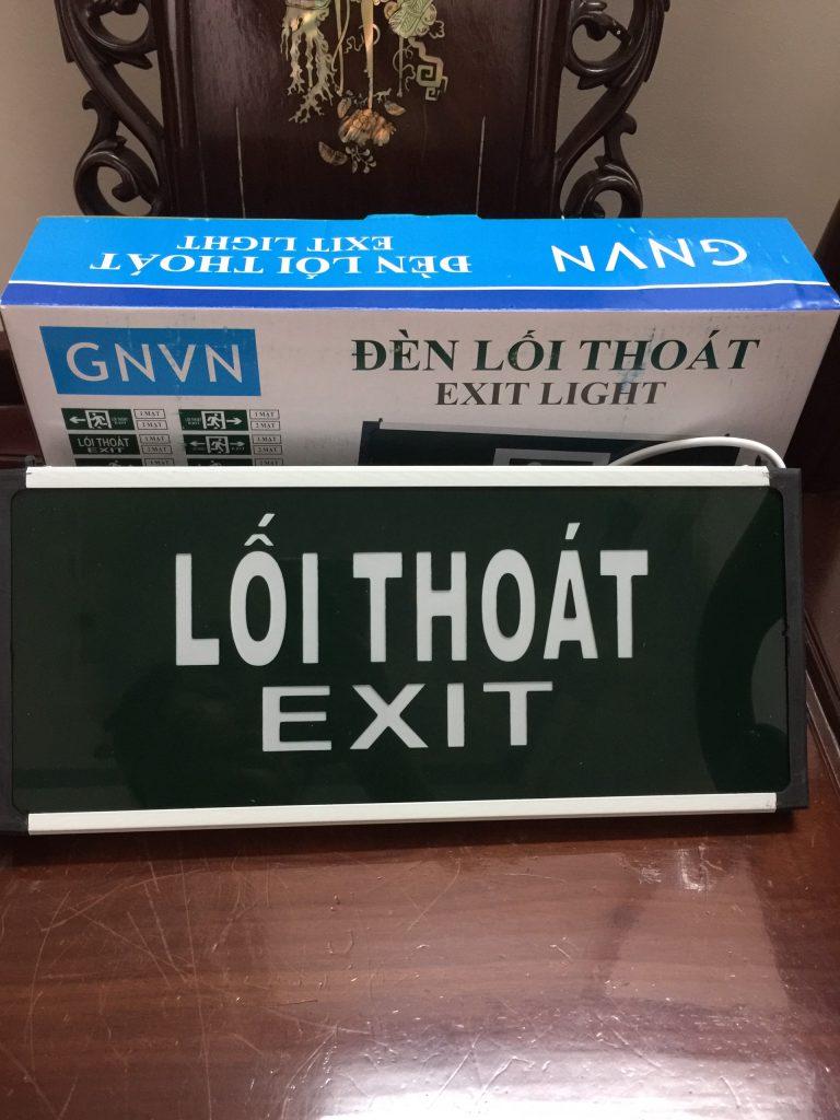 Đèn Exit GNVN 2mặt