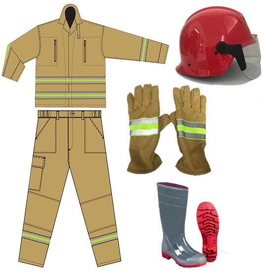 Bộ quần áo PCCC TT48